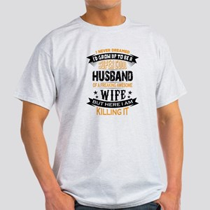 Super Cool Husband Of A Freaking Awesome Wife T-Sh