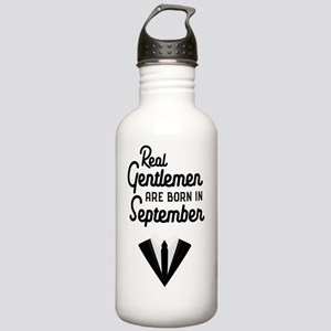 Real Gentlemen are bor Stainless Water Bottle 1.0L