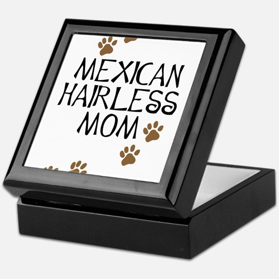 Mexican Hairless Mom Keepsake Box