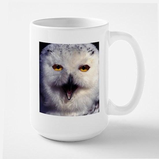Snow Owl Large Mug