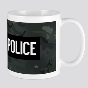 Canadian Police: Black Camouflag 11 oz Ceramic Mug