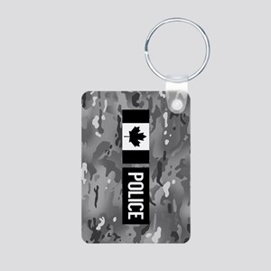 Canadian Police: Urban Cam Aluminum Photo Keychain