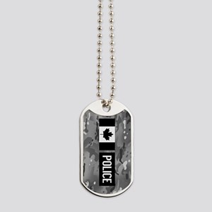 Canadian Police: Urban Camouflage Dog Tags