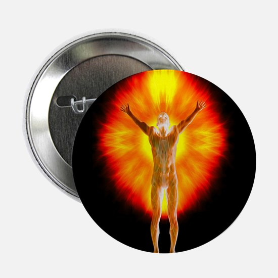 """The Man Burns 2.25"""" Button (10 pack)"""