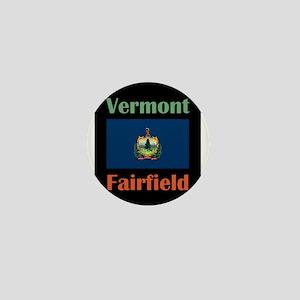 Fairfield Vermont Mini Button