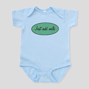 Just add milk Infant Bodysuit