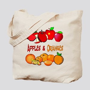 Apples/Oranges Tote Bag