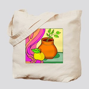 colorful Apple Tote Bag