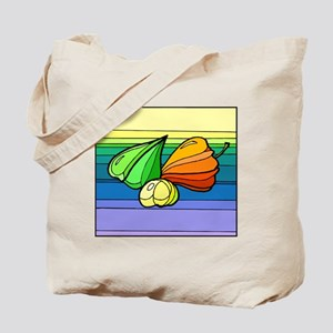 colorful Assorted Fruits Tote Bag