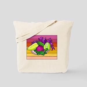 colorful Assorted Veggies Tote Bag