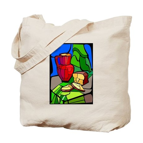 colorful Bread - Loaf Tote Bag