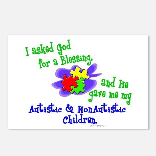 Blessing 2 (Autistic & NonAutistic Children) Postc