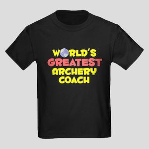 World's Greatest Arche.. (B) Kids Dark T-Shirt