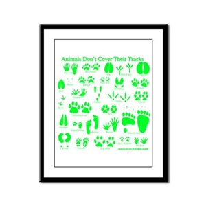 Green Tracks Framed Panel Print