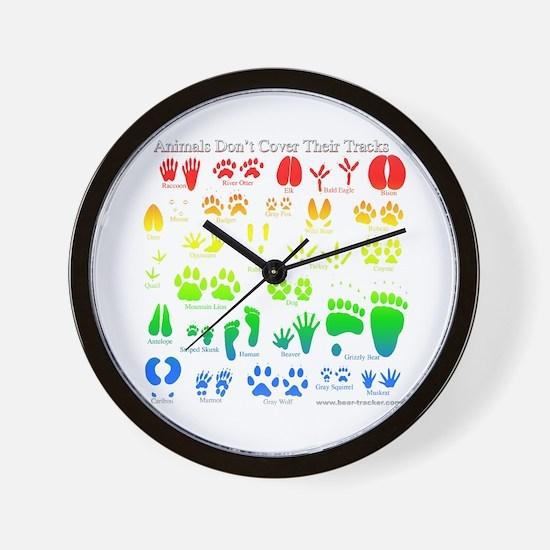 Colorful Rainbow Wall Clock