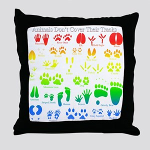 Colorful Rainbow Throw Pillow