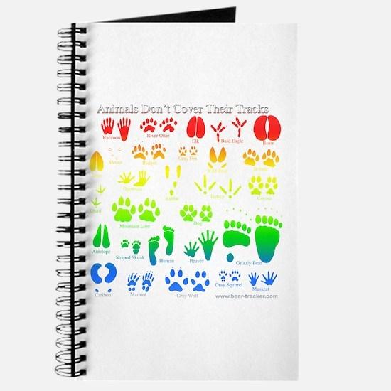 Colorful Rainbow Journal