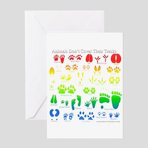 Colorful Rainbow Greeting Card