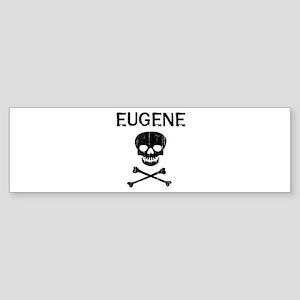 EUGENE (skull-pirate) Bumper Sticker