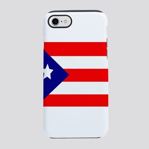 Flag of Puerto Rico iPhone 8/7 Tough Case