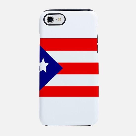 Flag of Puerto Rico iPhone 8/7 Tough Case