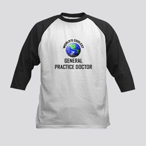 World's Coolest GENERAL PRACTICE DOCTOR Kids Baseb