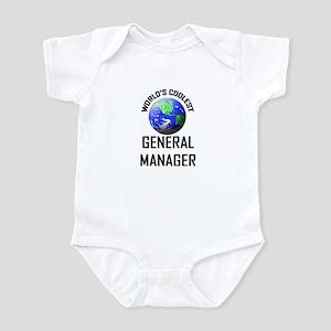 World's Coolest GENERAL MANAGER Infant Bodysuit