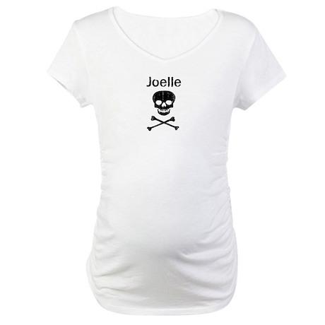 Joelle (skull-pirate) Maternity T-Shirt