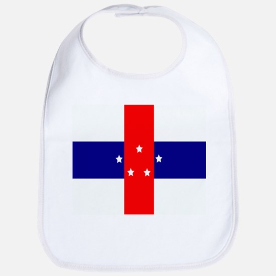 Flag of the Netherlands Antilles Baby Bib