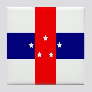 Flag of the Netherlands Antilles Tile Coaster