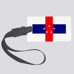 Flag of the Netherlands Antilles Large Luggage Tag