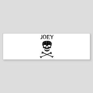 JOEY (skull-pirate) Bumper Sticker