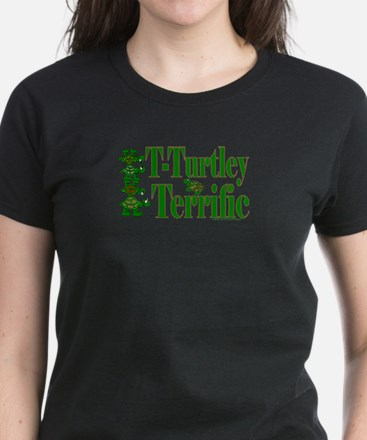 T-Turtley Terrific Women's Dark T-Shirt