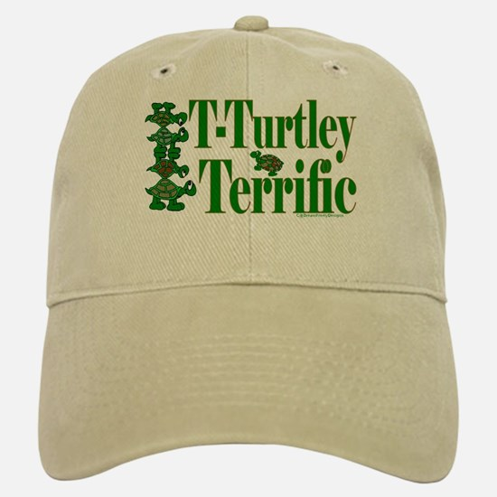 T-Turtley Terrific Baseball Baseball Cap