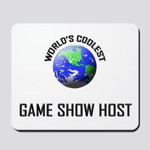 World's Coolest GAME SHOW HOST Mousepad