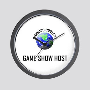 World's Coolest GAME SHOW HOST Wall Clock