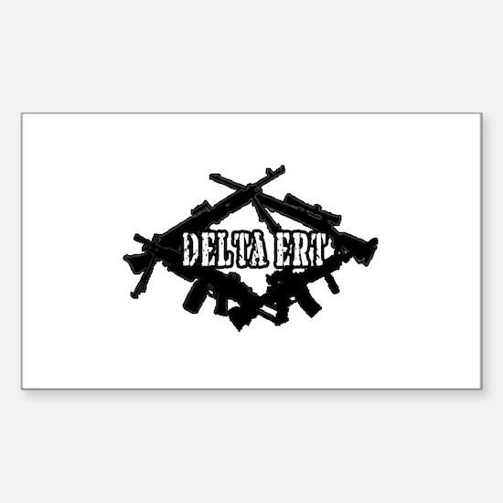 Delta Team ERT Rectangle Decal