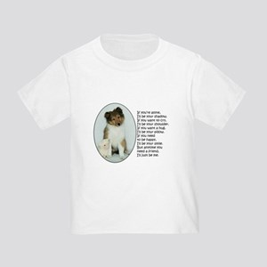 I'll Be Your Friend Toddler T-Shirt