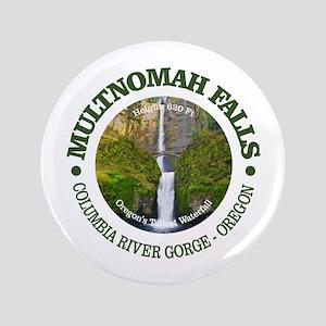 "Multnomah Falls 3.5"" Button"