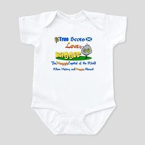 'Love Haggis.:-) Infant Bodysuit