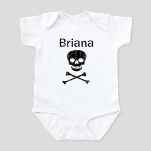 Briana (skull-pirate) Infant Bodysuit