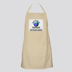 World's Coolest FORENSIC PSYCHOLOGIST BBQ Apron