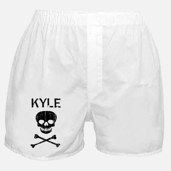 KYLE (skull-pirate) Boxer Shorts