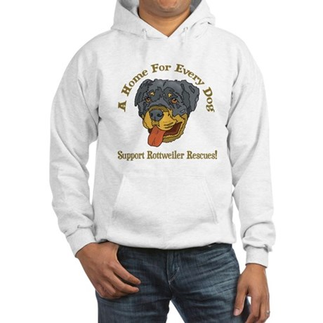 Support Rottweiler Rescues Hooded Sweatshirt