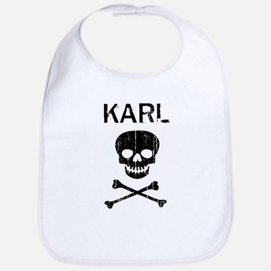 KARL (skull-pirate) Bib