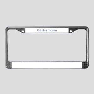 Genius Mama License Plate Frame
