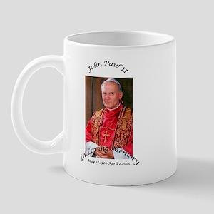 the pope finish Mugs
