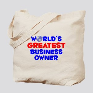World's Greatest Busin.. (A) Tote Bag