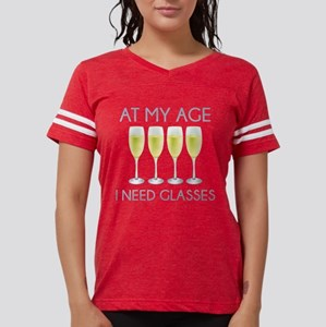 At My Age I Need Glasses White T-Shirt