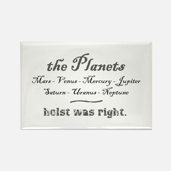 thePlanets Rectangle Magnet